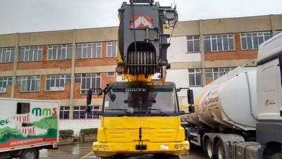 Guindaste Grove 4100l - 100tons