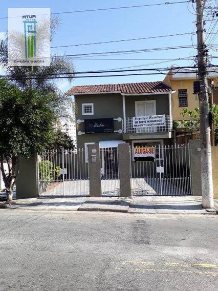 Sobrado Para Alugar, 140 M² Por R$ 3.200/mês - Lauzane Paulista - São Paulo/sp - So0066
