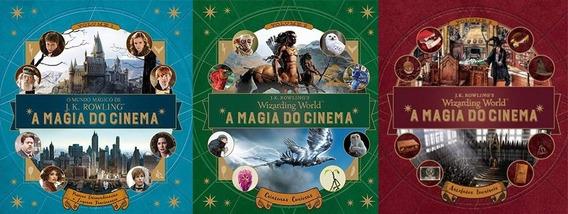 Coleção Harry Potter A Magia Do Cinema 3 Livros J K Rowling