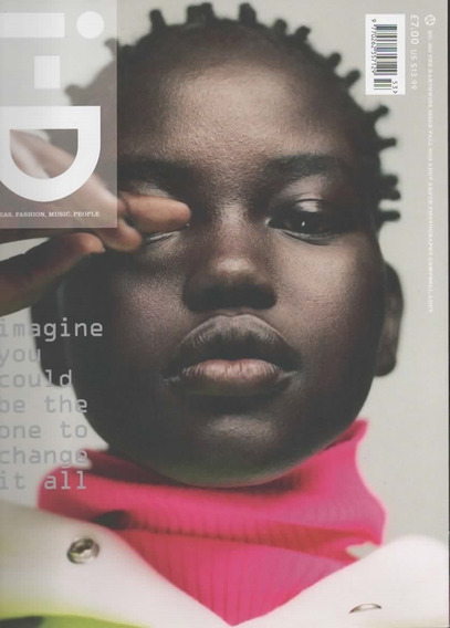 I-d Magazine Uk - Revista The Earthwise Issue Adut Akech