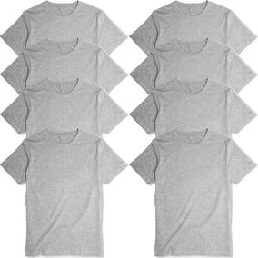 Kit 8 Camisetas Básica Lisa Camisa Algodão Premium Oferta!