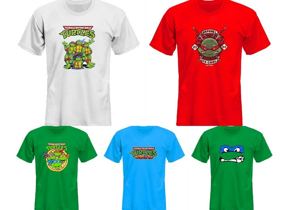 Remeras Tortugas Ninja Tmnt Ver Fotos! *mr Korneforos*