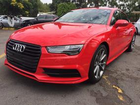 Audi A7 S Line 2016 Rojo