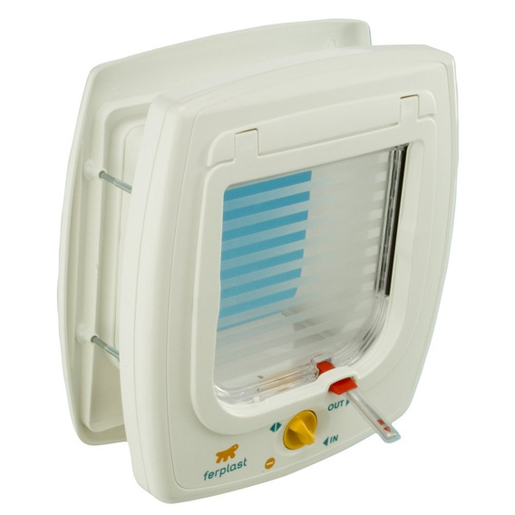 Ferplast Cat Flap Swing 7, Blanco