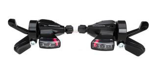 Shifters Shimano Altus Sl- M310 3 X 7 Vel Con Cables