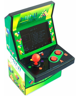 Consola Portatil Tiger Mini Classic Arcade Buil T-in 108