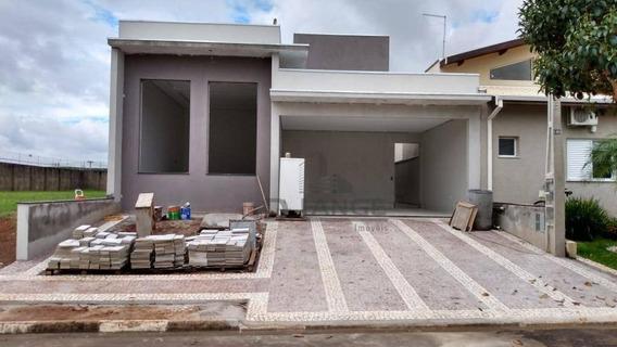 Casa Com 4 Dormitórios À Venda, 260 M² Por R$ 985.000,00 - Condomínio Terras Do Fontanário - Paulínia/sp - Ca13743