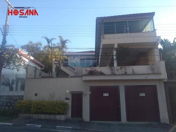 Casa Com 5 Dormitórios À Venda, 283 M² Por R$ 1.500.000,00 - Região Central - Caieiras/sp - Ca0724