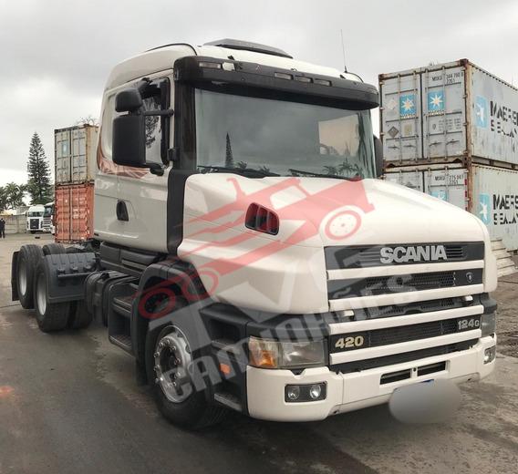 Scania T124 420 6x2 2003