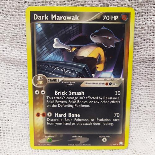 Card Game Pokemon Rpg : Dark Marowak