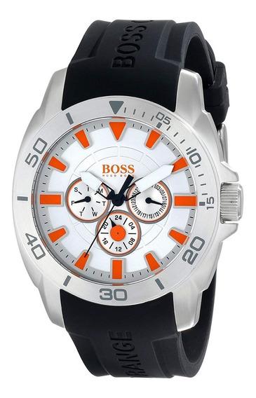 Reloj Hugo Boss Orange Cab Negro Silicon 1512955