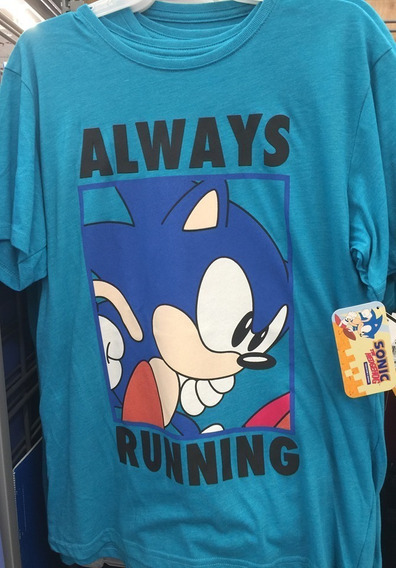Sonic The Hedgehog Sega Adventure T-shirt Camiseta Playera