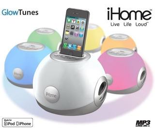 Dock Speaker Color De Led iPhone/iPod Excelente Sonido Luces