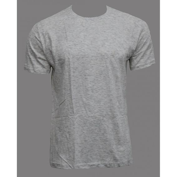 Camiseta Básica Polo Wear Gola Redonda Cinza 000043912