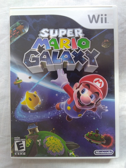 Super Mario Galaxy Nintendo Wii Jogo Game Original Completo
