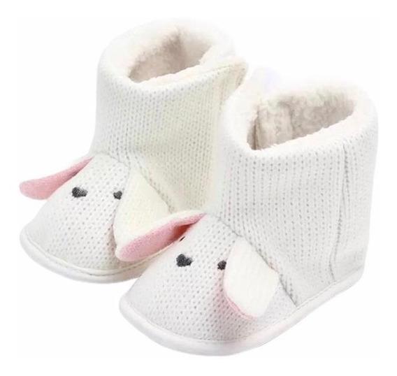 Pantufa Infantil Botinha De Bebê Inverno Quente Melhor Valor