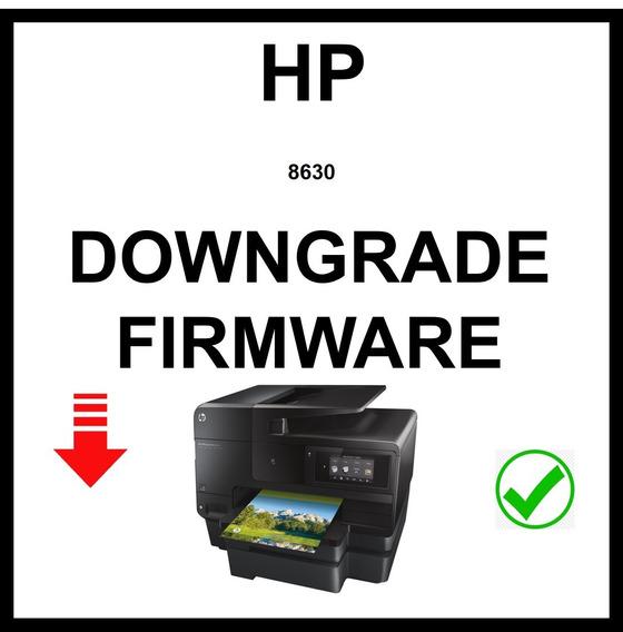 Downgrade Firmware Hp 8630 Y Mas ...