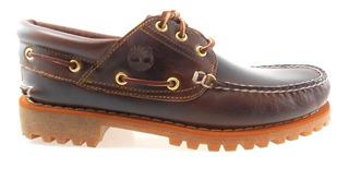 Lug Cuero Barco Zapatos W(wide) Timberland 6500a Tfo Clásico