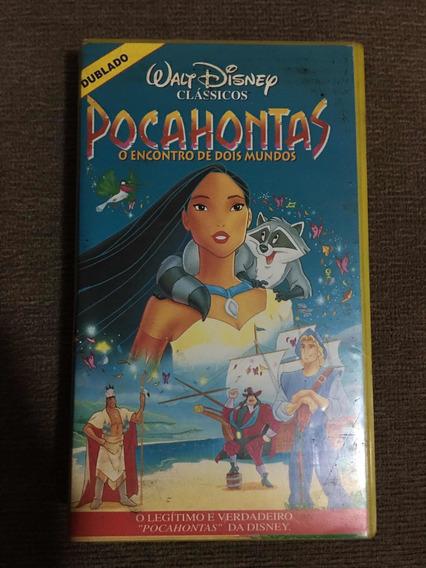 Fita Cassete Pocahontas