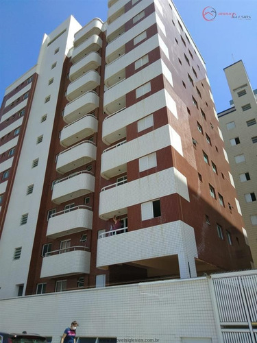 Imagem 1 de 29 de Apartamentos No Litoral À Venda  Em Praia Grande/sp - Compre O Seu Apartamentos No Litoral Aqui! - 1479680