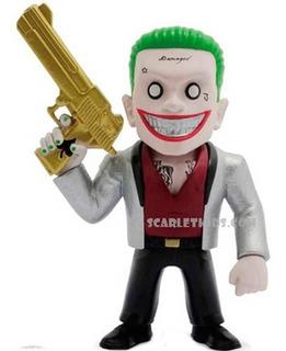 Joker Suicide Squad Figura Metals 4 Pulgadas Die Cast Jada