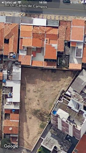 Terreno Padrão Em Campinas - Sp - Te0006_dcoe