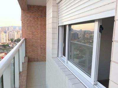 Apartamento Com 1 Dormitório À Venda, 49 M² Por R$ 320.000 - Macuco - Santos/sp - Ap0607