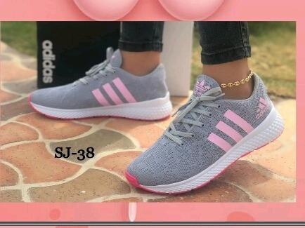 Zapato Deportivo Para Damas Tela Labrada (sj003