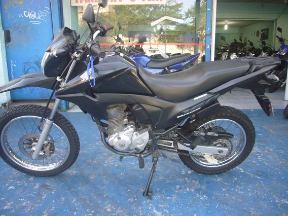 Honda Nxr 160 Bros Esdd 2016 Preta R$ 10.999 Troco