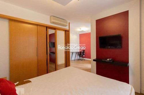 Imagem 1 de 30 de Flat Venda/locação Com 1 Dorm, Paraíso, São Paulo - R$ 302 Mil - V5100