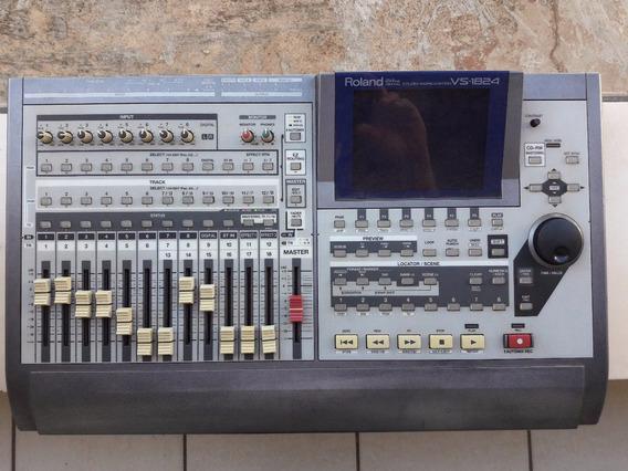 Console/mesa Digital Som/gravadora Digital Roland Vs-1824 Cd