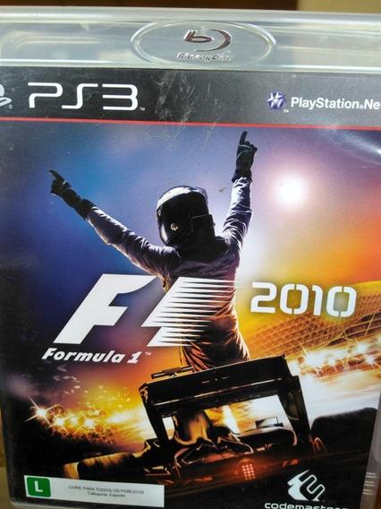 Formula 1 2010 Ps3 Original , A Pronta Entrega