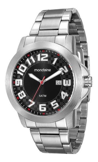 Relógio Masculino Mondaine Calendário Casual 94902g0mvne1