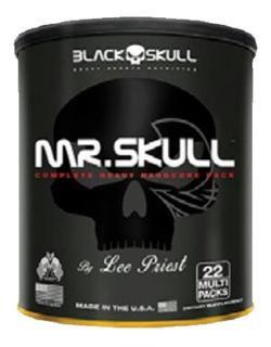 Mr. Skull - 22 Multipacks - Black Skull