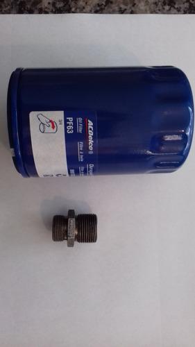 Conector Filtro Aceite Motor 5.3 Silverao/tahoe/hd