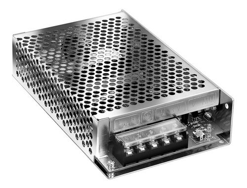 Imagen 1 de 5 de Fuente Switching Metalica Interior 75w 6.3a 12v - S-75-12