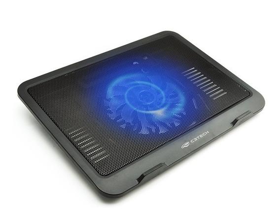 Suporte Notebook Mesa 1 Cooler 14 Cm 10 A 14 Nbc-11bk