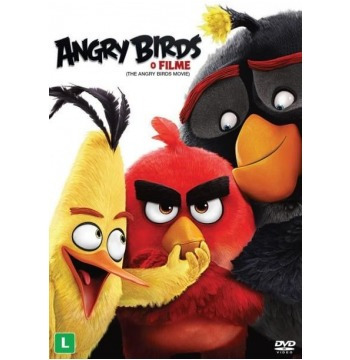 Angry Birds: O Filme Dvd Original Novo E Lacrado