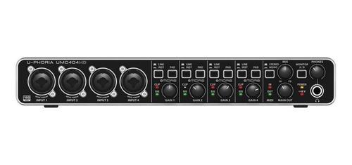 Interface de audio Behringer U-Phoria UMC404HD 100V/240V