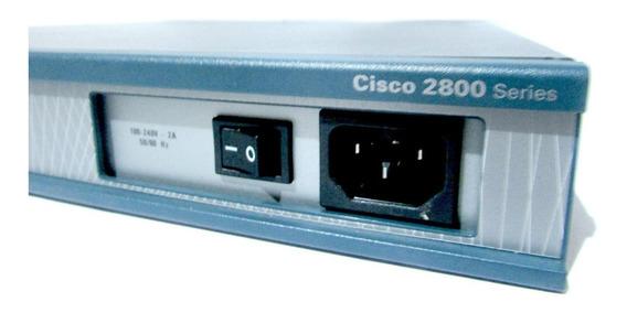 Cisco 2811 + Vic3-4 Fxs + Hwic 1t + Cabo Serial + Pvdm 16