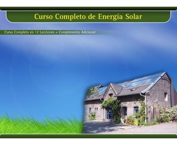Curso En Video De Energia Solar..