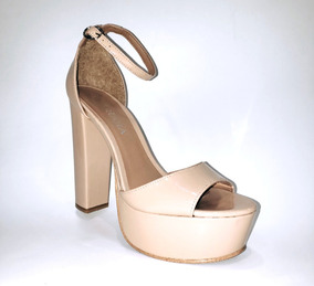Libre Zapatos En México Zapatilla Plataforma Mercado Nude NkZ8wOXn0P
