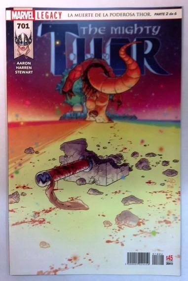 The Migthy Thor #701 Marvel Legacy En Español