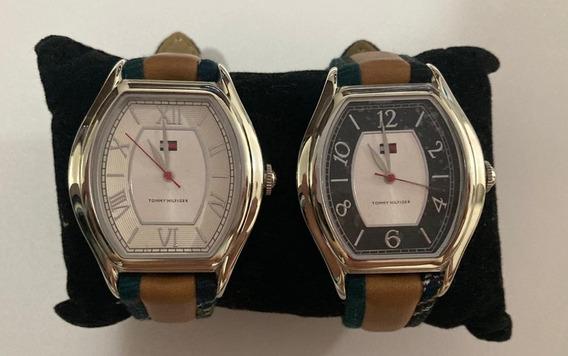 02 Relógios Tommy Hilfiger Feminino - Original - Usado