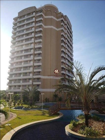 Apartamento Com 2 Dormitórios À Venda, 62 M² Por R$ 295.000,00 - Cambeba - Fortaleza/ce - Ap0425
