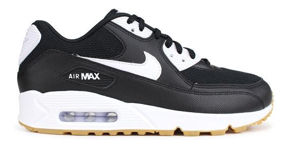 Oferta! Nike Air Max 90 Black/white/gum. Entrega Inmediata !