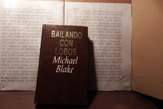Libro Físico Pelicula Danza Con Lobos Michael Blake