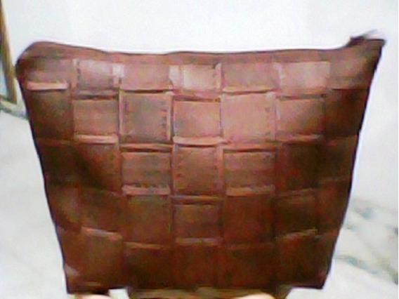 Portacosmeticos Practico Fabricado En Semi-cuero