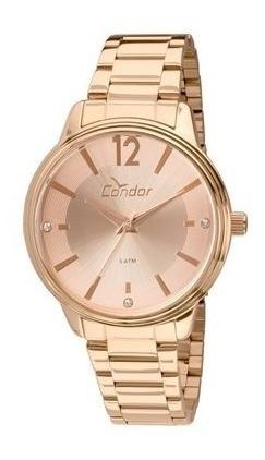 Relógio Feminino Condor Rosê Co2035kvp/4j Analógico