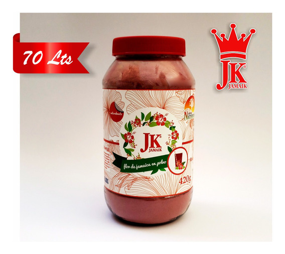 Jk Jamaik 70 Litros Jamaica Y Semilla En Polvo 100% Natural